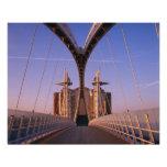 Puente del milenio, centro de Lowry, Salford Arte Fotográfico