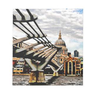 Puente del milenio - Londres Blocs De Notas