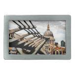 Puente del milenio - Londres Hebillas De Cinturón