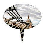 Puente del milenio - Londres Palillos De Tarta