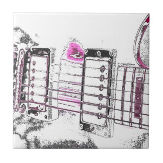 puente del negro del rosa de la imagen del esquema azulejo