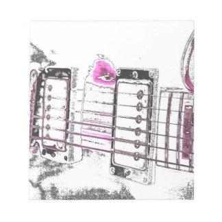 puente del negro del rosa de la imagen del esquema blocs de papel