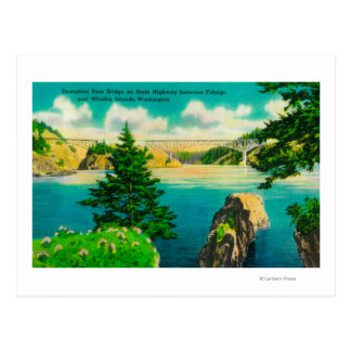 Puente del paso del engaño, Fidalgo e isla de Tarjetas Postales