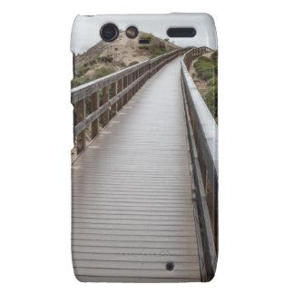 Puente del pie en el parque de estado del lago oso motorola droid RAZR fundas