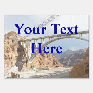 Puente del Preso Hoover Letrero