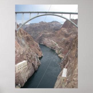 Puente del Preso Hoover Póster