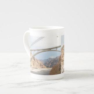 Puente del Preso Hoover Taza De Porcelana