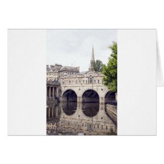 puente del pulteney tarjeta de felicitación