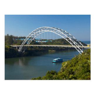 Puente del río de Mtamvuna, Kwazulu Natal Postal