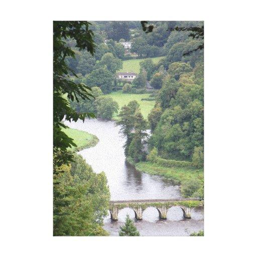 Puente del siglo XVII, Irlanda Impresion En Lona