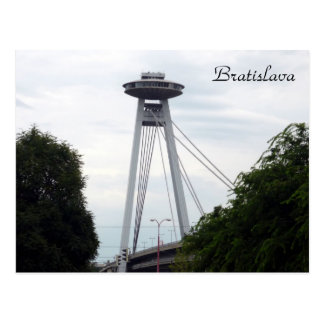 puente del UFO de Bratislava Tarjetas Postales