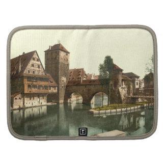 Puente del verdugo, Nuremberg, Baviera, Alemania Planificador