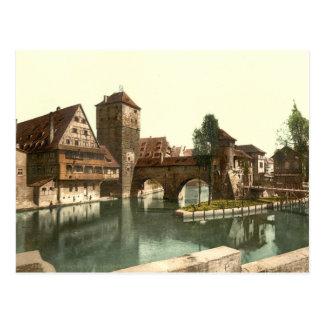 Puente del verdugo, Nuremberg, Baviera, Alemania Tarjetas Postales