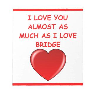puente duplicado bloc