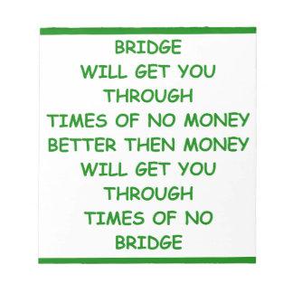puente duplicado bloc de notas