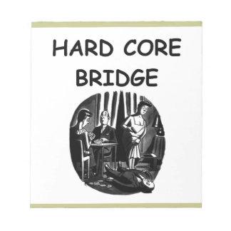 puente duplicado libretas para notas