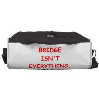 puente duplicado bolsas para portátil