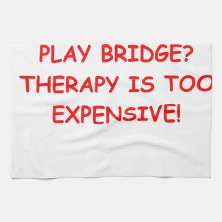 puente duplicado toallas de mano