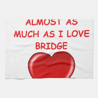 puente duplicado toalla de cocina