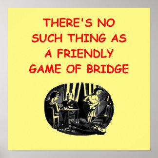 puente duplicado póster