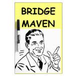 puente duplicado tableros blancos