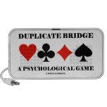 Puente duplicado un juego psicológico sistema altavoz