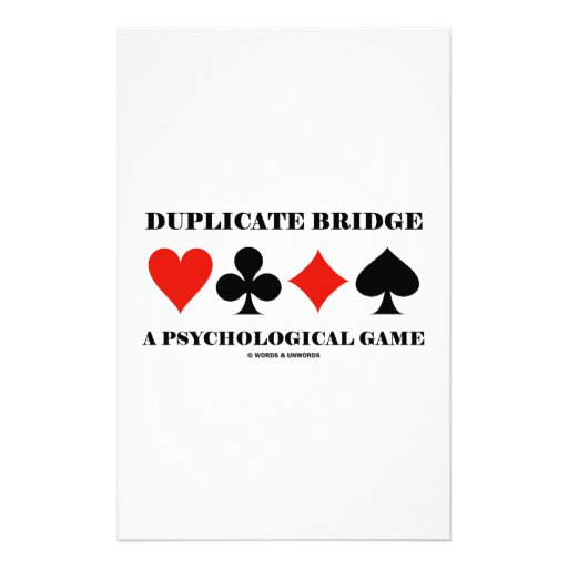 Puente duplicado un juego psicológico papeleria