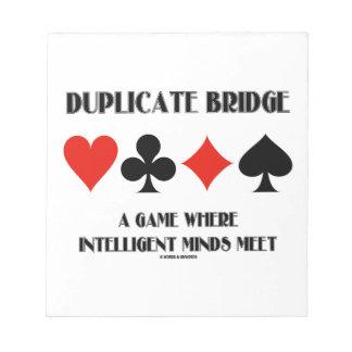 Puente duplicado una reunión inteligente de las me blocs