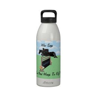 Puente ecuestre del caballo de la diversión botella de agua reutilizable