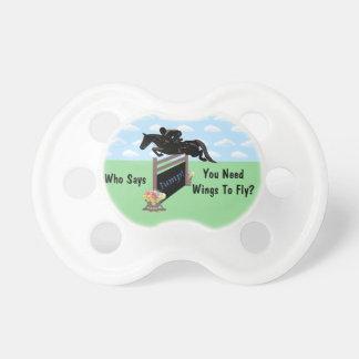 Puente ecuestre del caballo de la diversión chupetes para bebes