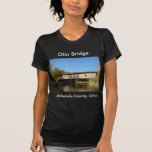 Puente el condado de Ashtabula Ohio de Olin Camisetas