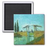 Puente en Arles de Vincent van Gogh Iman Para Frigorífico