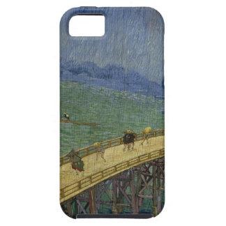 Puente en el caso del iPhone 5 de la lluvia Funda Para iPhone SE/5/5s