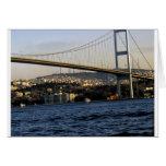 Puente en Estambul Tarjeta