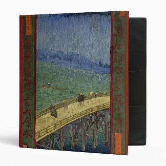 Puente en la carpeta de la lluvia