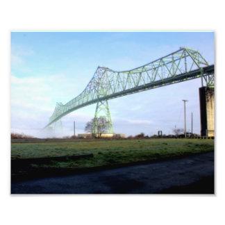 Puente en la niebla # 4 cojinete