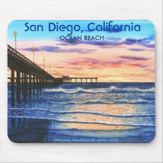 PUENTE EN SUNSET-T, San Diego, California, ORIG… Tapetes De Ratones