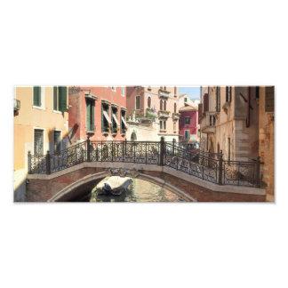 Puente en Venecia Italia Cojinete