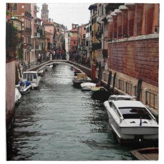 Puente en Venecia Servilletas Imprimidas