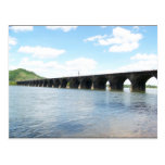 Puente ferroviario del arco de la albañilería de p tarjeta postal
