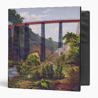 Puente ferroviario en Metlac, del 'álbum del Mexic