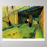 Puente ferroviario sobre la avenida Montmajour de  Poster