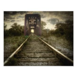 Puente ferroviario suroriental de Tejas Fotografía