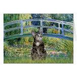 Puente - gato de tigre del Tabby 31 Felicitaciones