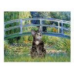Puente - gato de tigre del Tabby 31 Postal