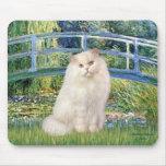 Puente - gato persa blanco tapetes de ratón