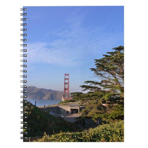 Puente Golden Gate #3 Libreta