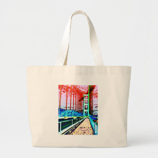 Puente Golden Gate Bolsa Tela Grande
