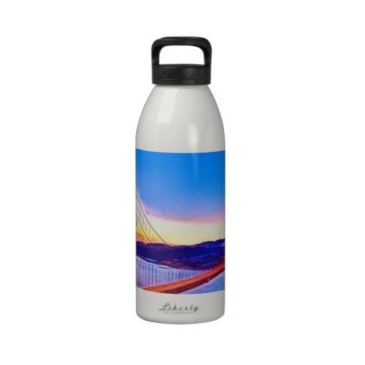 puente Golden Gate Botella De Agua Reutilizable