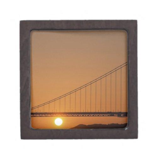 Puente Golden Gate Cajas De Joyas De Calidad